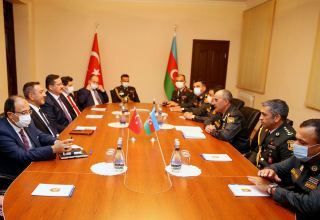 Azerbaijan and Turkey discuss military-technical support issues