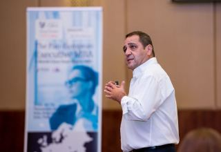"""CITY College, University of York Europe Campus holds seminar on """"Gamification: The Contemporary Way to Engage Employees and Customers"""" in Baku (PHOTO)"""