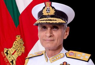 Indian Navy Chief arrives in Oman on 3-day visit
