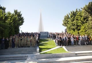 Memory of Azerbaijan's martyrs honored in country's Khachmaz district (PHOTO)