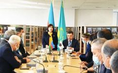 Speaker of Azerbaijani Parliament takes part in Remembrance Day ceremony in Kazakhstan (PHOTO) - Gallery Thumbnail