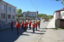 Personnel of Defense Ministry and Internal Troops of MIA hold solemn march in Shusha (PHOTO) - Gallery Thumbnail