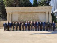 Turkey's deputy national defense minister on visit in Azerbaijan to pay respect to martyrs of Second Karabakh War (PHOTO) - Gallery Thumbnail