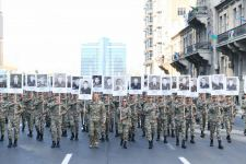 President Ilham Aliyev, First Lady Mehriban Aliyeva join march to pay tribute to memory of Azerbaijani martyrs of second Karabakh war (PHOTO/VIDEO) - Gallery Thumbnail