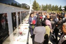 Memory of Azerbaijan's martyrs honored in country's Khachmaz district (PHOTO) - Gallery Thumbnail
