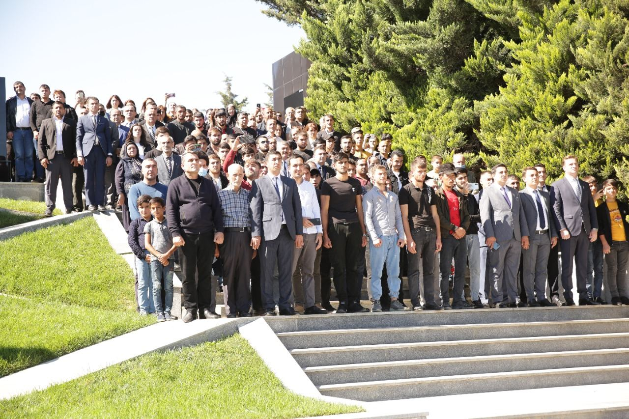 Memory of Azerbaijan's martyrs honored in country's Khachmaz district (PHOTO) - Gallery Image