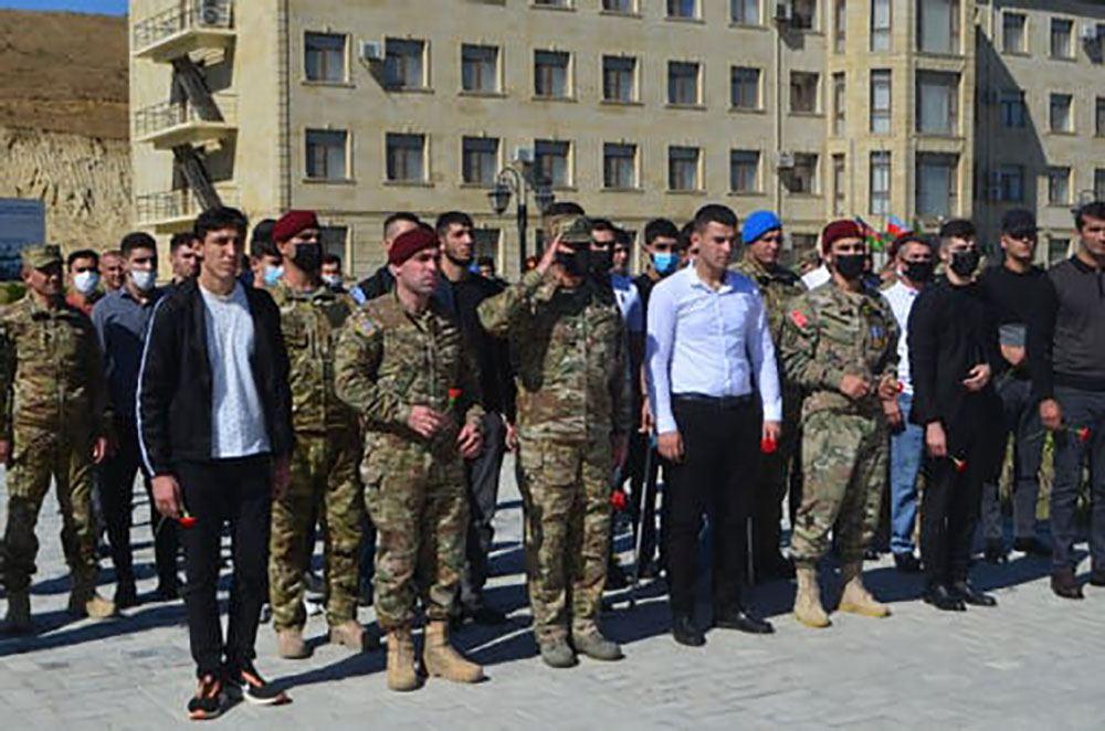 Xüsüsi Təyinatlı Qüvvələrin komandanı veteranlarla görüşüb (FOTO/VİDEO) - Gallery Image