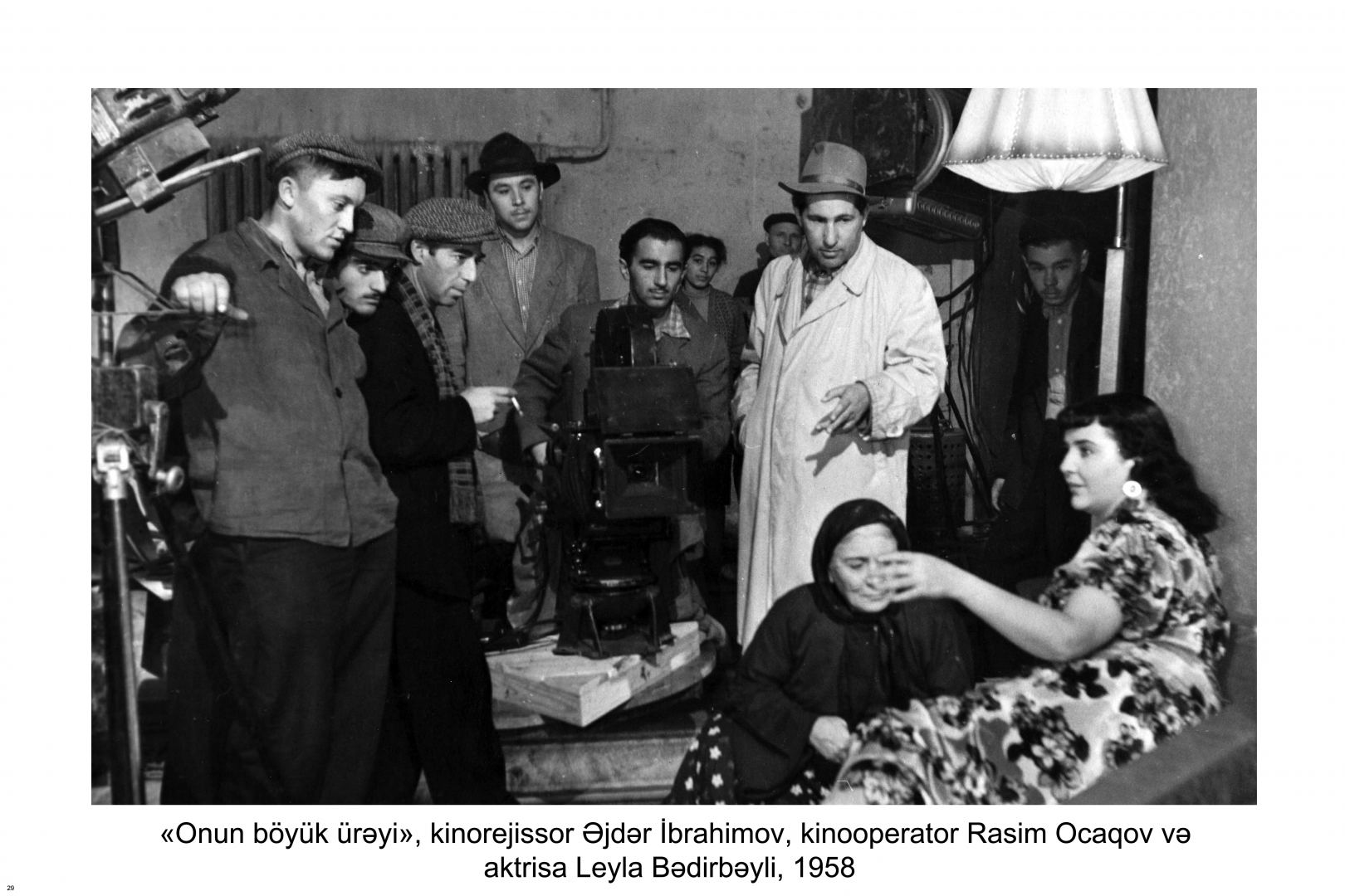 Rasim Ocaqovun şəxsi arxiv fondu yaradılıb (FOTO) - Gallery Image