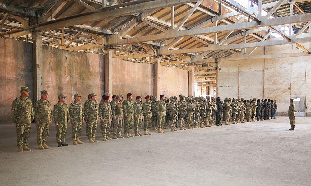 В подразделениях спецназа Отдельной общевойсковой армии Нахчывана состоялись тактико-специальные учения по борьбе с терроризмом (ФОТО/ВИДЕО) - Gallery Image
