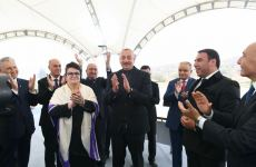 Heartfelt moments from meeting of President Aliyev with public representatives in Jabrayil (PHOTO/VIDEO) - Gallery Thumbnail