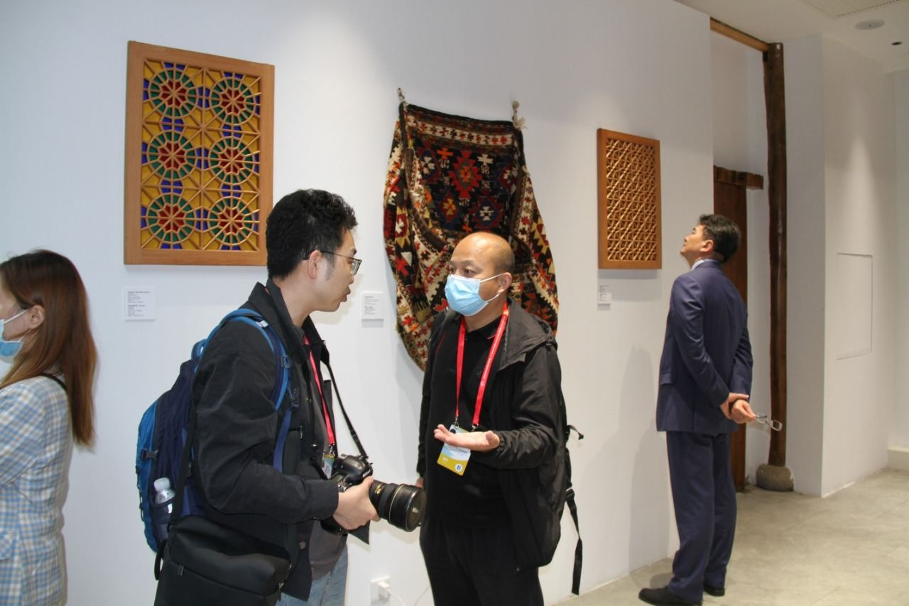 """Azerbaijani pavilion created by Heydar Aliyev Foundation opened in Park of Culture """"Ancient Settlements"""" in China (UPDATE) - Gallery Image"""