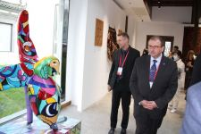 """Azerbaijani pavilion created by Heydar Aliyev Foundation opened in Park of Culture """"Ancient Settlements"""" in China (UPDATE) - Gallery Thumbnail"""