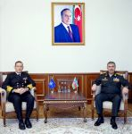 Azerbaijani MoD discusses extension of cooperation with NATO representative - Gallery Thumbnail