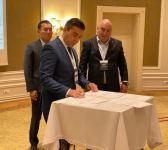 Telecom operators of Azerbaijan, Kazakhstan, Kyrgyzstan and Uzbekistan signed a Memorandum of Cooperation (PHOTO) - Gallery Thumbnail