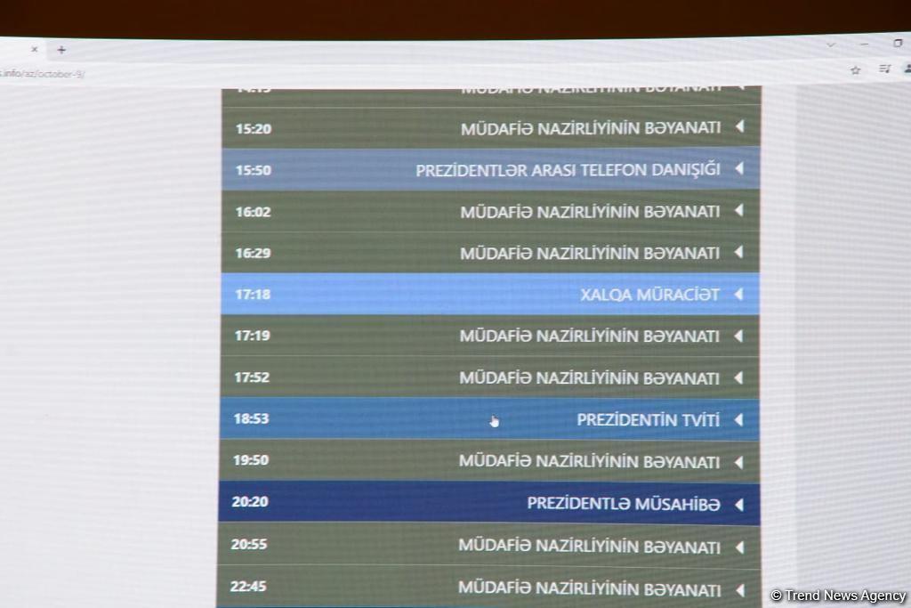 """Heydər Əliyev Fondunun dəstəyi ilə yaradılan """"www.44days.info"""" portalının təqdimatı olub (FOTO) - Gallery Image"""