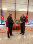 Azerbaijan's Land Forces Commander meets his Turkish counterpart (PHOTO) - Gallery Thumbnail