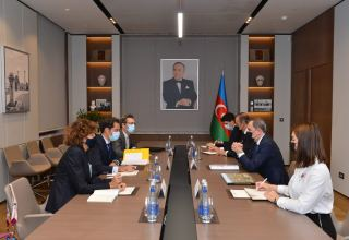 Ceyhun Bayramovun NATO-nun Cənubi Qafqaz və Mərkəzi Asiya üzrə xüsusi nümayəndəsi ilə görüşüb (FOTO)