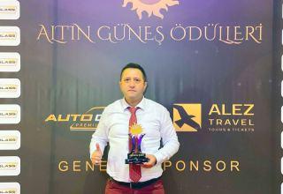 Корреспондент Trend удостоен премии Азербайджана-Турции за активное участие в информационной войне (ФОТО)