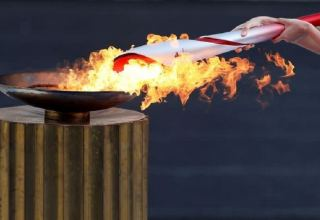 Olympic flame arrives in China for Beijing 2022 Winter Games