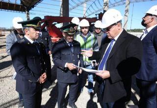 Новый таможенный пост в Азербайджане позволит ускорить грузоперевозки по коридору Север-Юг (ФОТО)