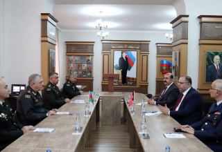 Leadership of Turkish Defense University visit Azerbaijani War College of Armed Forces (PHOTO)