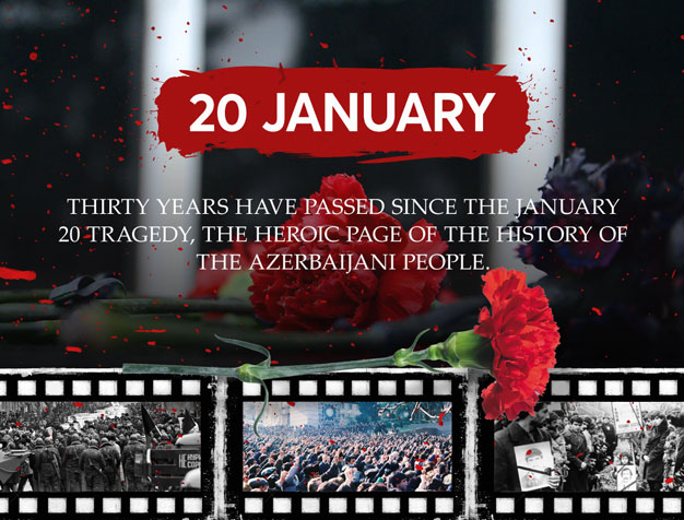 30 years pass since January 20 tragedy, heroic page in the history of Azerbaijani people