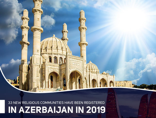 33 new religious communities have been registered in Azerbaijan