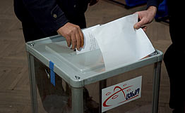 Photo: Georgian CEC announces preliminary results of municipal election in Tbilisi / Georgia