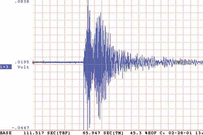 Photo: Earthquake occurs in Azerbaijani sector of Caspian Sea / Other News