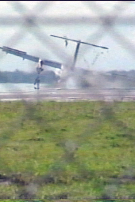 Photo: Three dead, four injured in cargo plane crash in Shanghai Airport / Other News