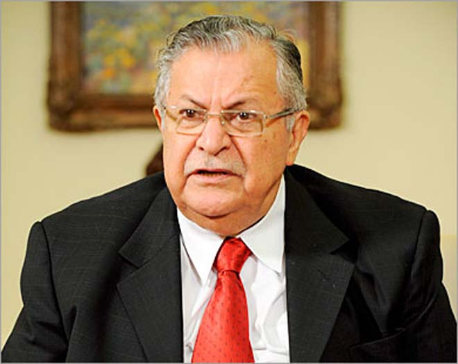 Photo: Iraq's foreign minister says President Talabani not dead (UPDATE 3)