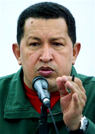 "Photo: Chavez slams Israel for ""brutal massacre"" on aid flotilla / Israel"