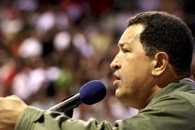 Photo: Chavez calls for calm as Venezuela awaits election results  / Other News