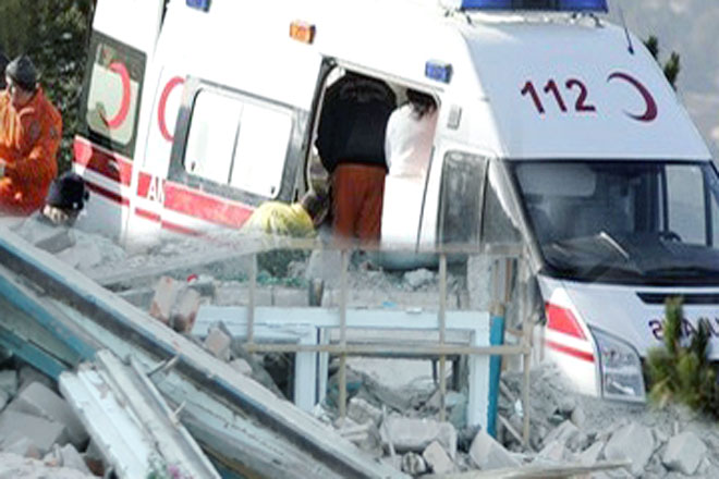 Photo: Fifty-seven injured after quake hits Turkish resort / Turkey