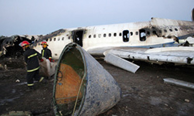 Photo: Malaysian passenger plane crashes in Ukraine near Russian border / Other News