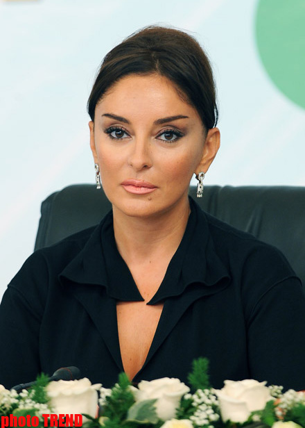 Photo: Chief of UNICEF Baku office meets President of Heydar Aliyev Foundation Mehriban Aliyeva / Politics