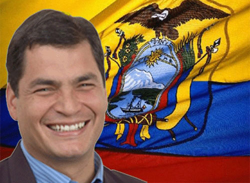 Photo: Early official results confirm Correa's win in Ecuador / Other News