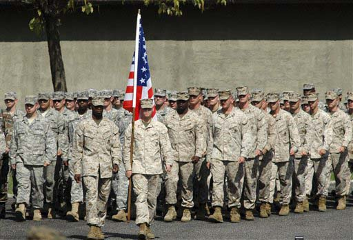 Photo: U.S. marines deploy to Italy due to Libya threat, says official / Arab World