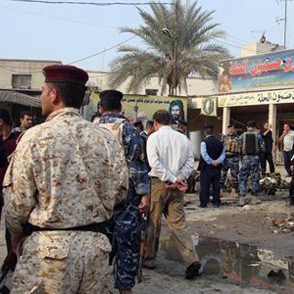 Photo: Explosion rocks area near Iraq's Green Zone / Arab World
