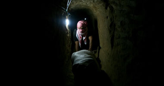 Photo: Gaza tunnel closures add to economic crisis  / Arab World