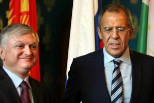 Photo: Armenian, Russian FMs discuss settlement process of Nagorno-Karabakh conflict / Nagorno-karabakh conflict