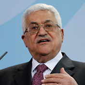 Photo: Abbas demands Israel halts Gaza 'escalation'
