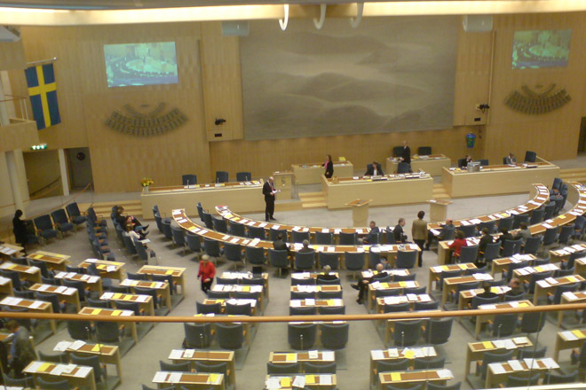 Photo: Declaration on Khojaly genocide sent to Swedish parliament  / Nagorno-karabakh conflict