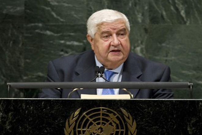 Photo: Syria rejects foreign intervention: FM / Arab World