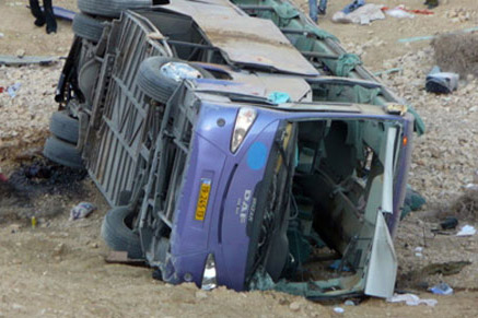 Photo: Bus falls off cliff in Iran, 15 dead / Other News