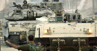Photo: Palestinians wounded by Israeli tanks