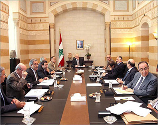 Photo: Lebanese cabinet wins confidence vote / Arab World