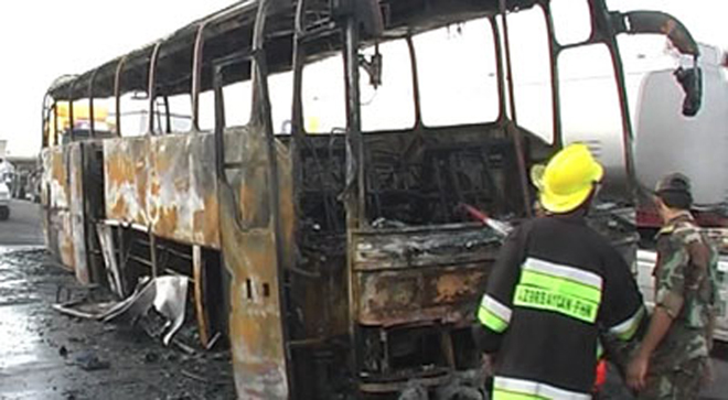 Photo: Blast on tourist bus in Egypt, 4 wounded / Arab World