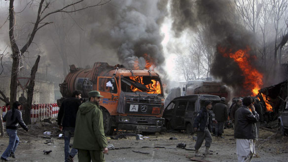 Photo: At least 14 people killed in Kabul attack: police / Other News