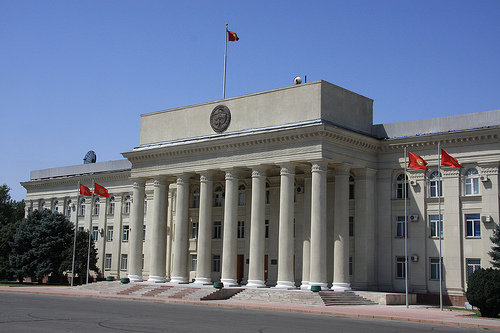 "Photo: Kyrgyz parliament to ratify ""roadmap"" for accession into Customs Union